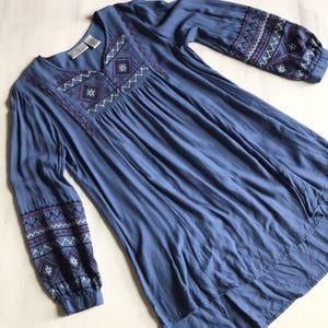 OSo Casuals blue pheasant tunic